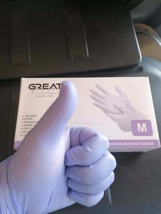 Ръкавици нитрил / Nitrille gloves 100 броя