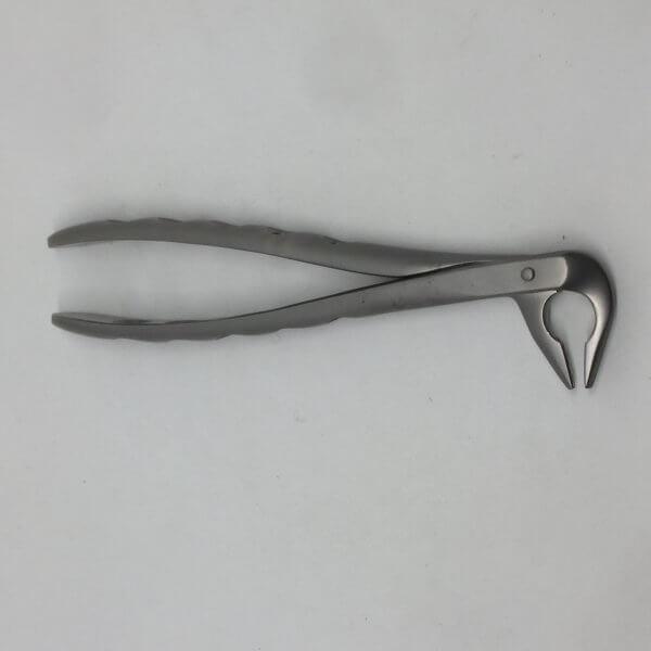 Стоматологична клеща за екстракция на долни премолари и корени